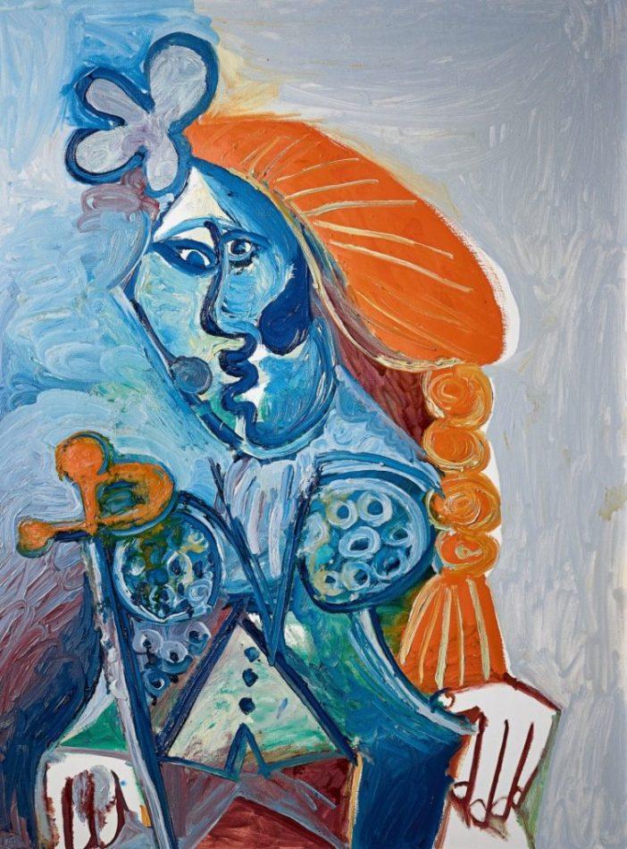 Pablo Picasso,Buste de matador(1970). Courtesy of Sotheby's Hong Kong.
