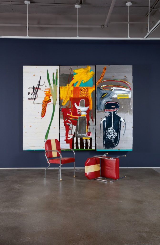 Jean-Michel Basquiat,Untitled(1985). Courtesy of Sotheby's.