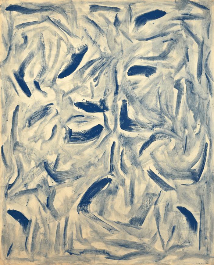 Lee Ufan,East Winds(1984). Courtesy of Seoul Auctions