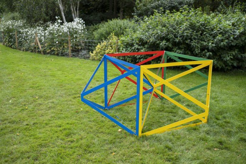 Frieze Sculpture Park, Regent's Park, London. Stoyan Dechev, Event Horizon (2019), Anca Poterasu Gallery. Photo by Linda Nylind.