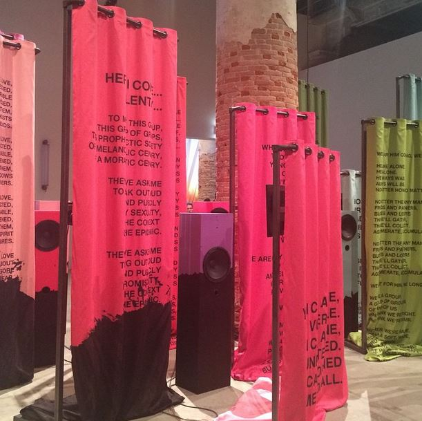 """""""Lili Reynaud Dewar, My Epidemic (Small Bad Blood Opera), 2015. All the World's Future, 56. #VeniceBiennale"""" - @kunstkritikk"""