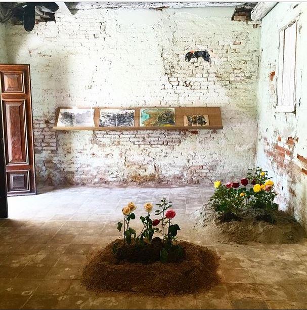 """Anna Boghiguian, Ani, 2015, for Armenity, in the #ArmenianPavilion #Venicebiennale via @artforum #bethechange #art #artist #politics #Egypt #plants #annaboghiguian #shebuilds #womeninarchitecture #arts #design"" - @architexx_xx"