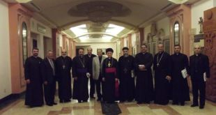 Bishop Mar Aprim Khamis Attends Heads of Eastern Churches Meeting in Los Angeles, USA