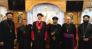 SECRETARY OF THE HOLY SYNOD MEETS WITH SYNOD SECRETARY OF THE COPTIC ORTHODOX CHURCH