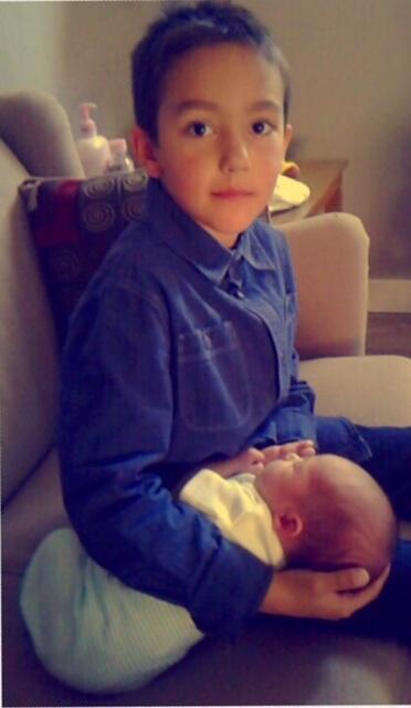 sasha's child and baby