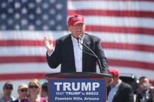 trump speaking at fountain hills, arizona