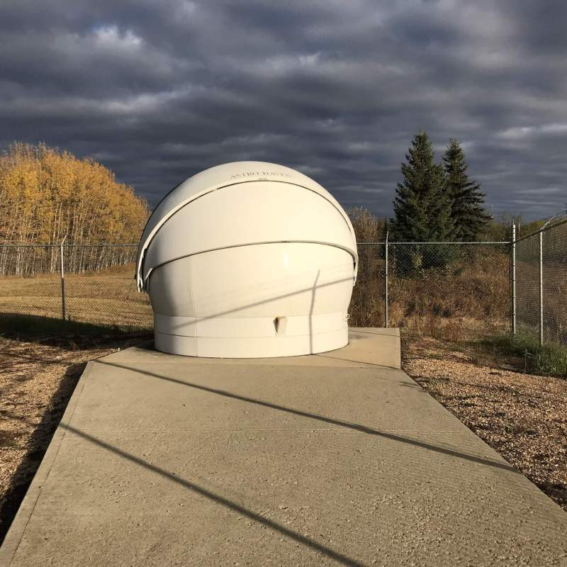 The Athabasca University Robotic Telescope is accessible to astronomers all over the world via