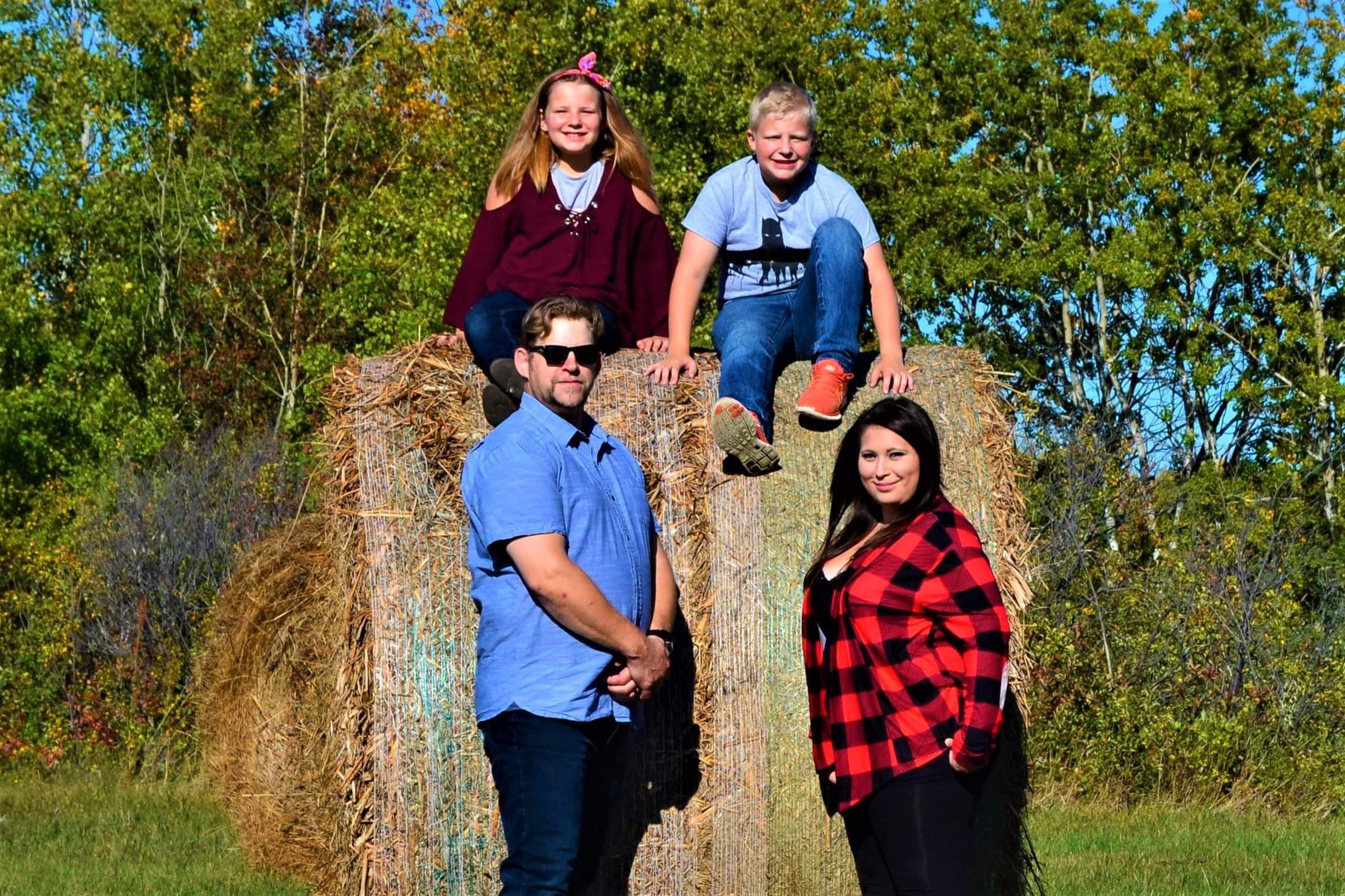Jay Jazen and family