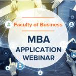 MBA Application Webinar (Recording)
