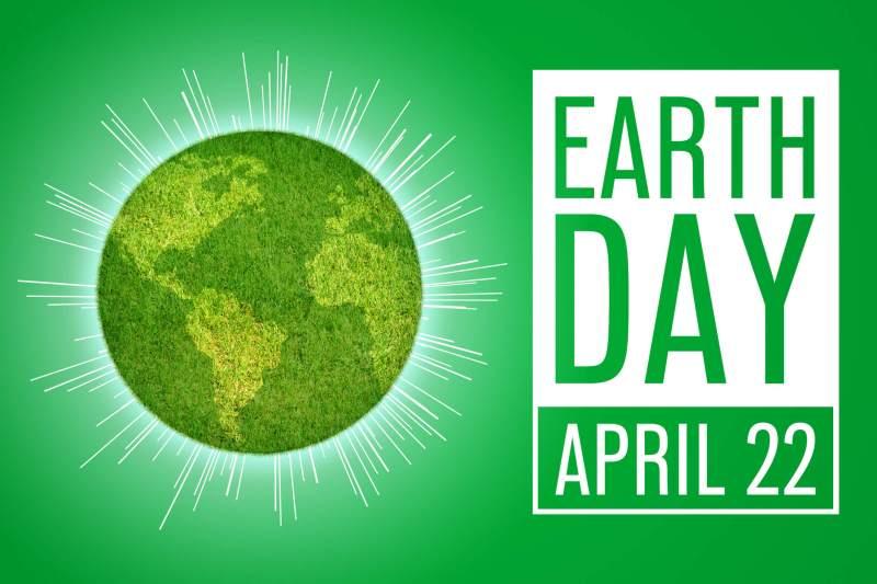 Earth Day - April 22 logo