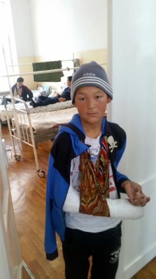 Пациент 3-й Детской больницы