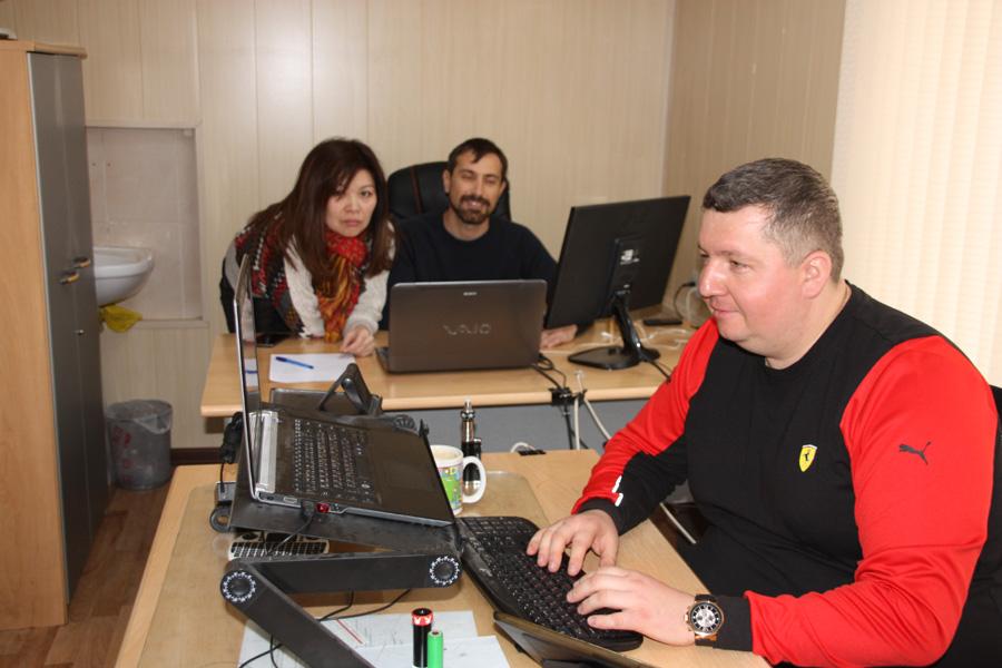Сотрудники интернет-проекта