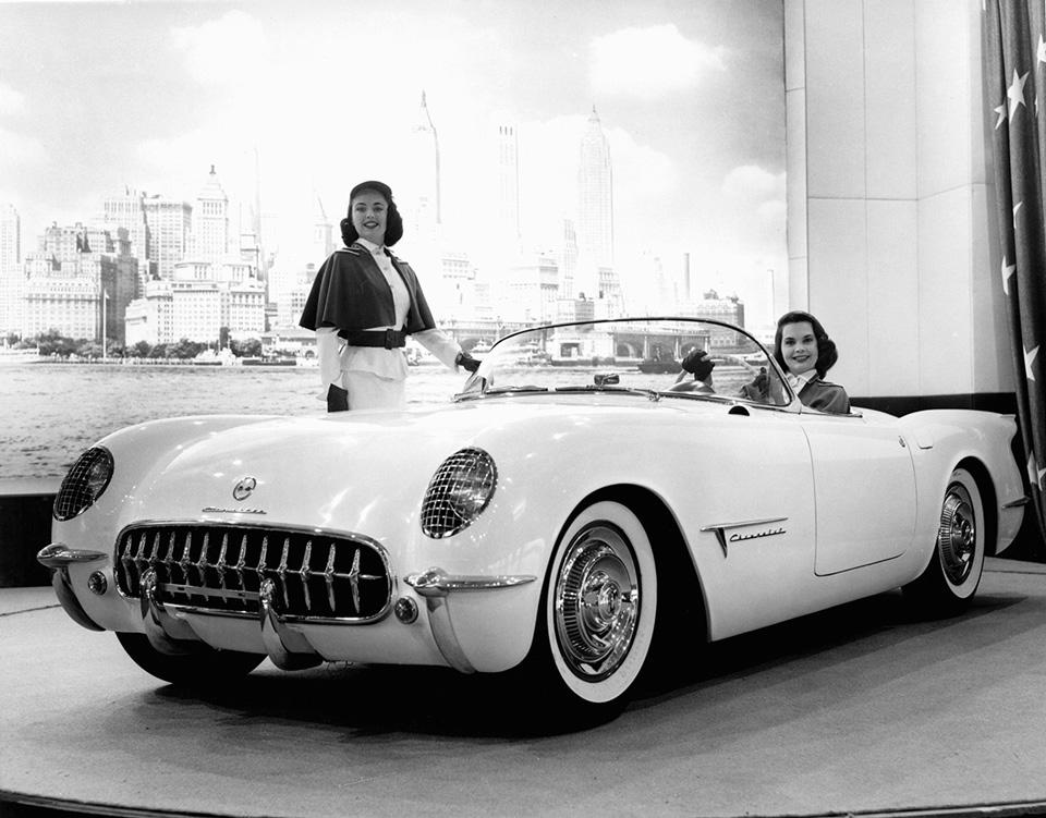 Концепт Chevrolet Corvette 1953
