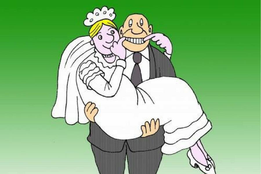 уловистых смешные картинки к дате свадьбы статье