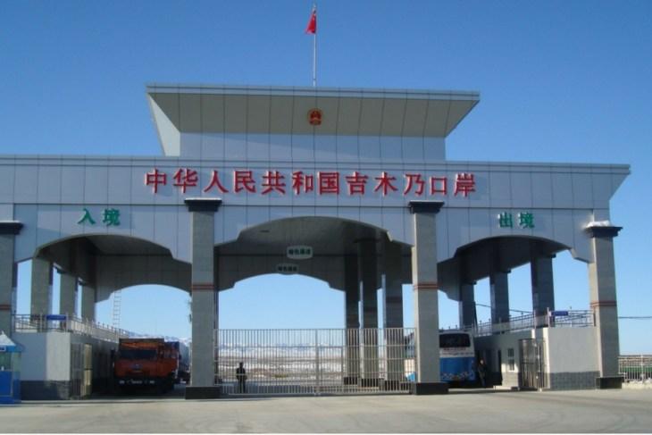 Граница Китай - Кыргызстан