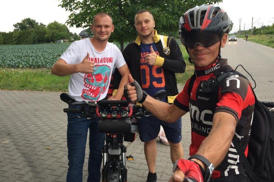 Селфи с украинцами в Польше