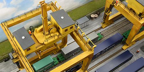 Container Terminal Crane