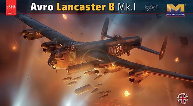 Avro Lancaster Mk.1 Box Artwork