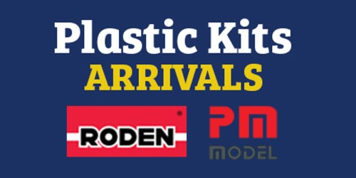 Roden and PM Model plastic kit arrivals