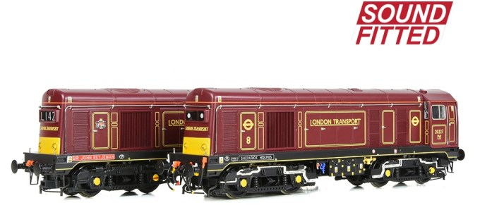 Limited Edition models of No. 20142 'Sir John Betjeman' & No. 20227 'Sherlock Holmes' SOUND FITTED
