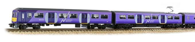Graham Farish N Scale 372-877 Class 319 4-Car EMU 319362 Northern Rail Close up