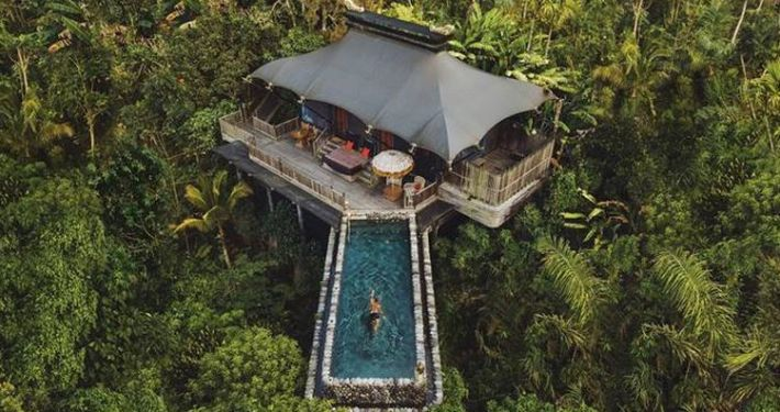 Hotel Capella in Ubud voted as best hotel