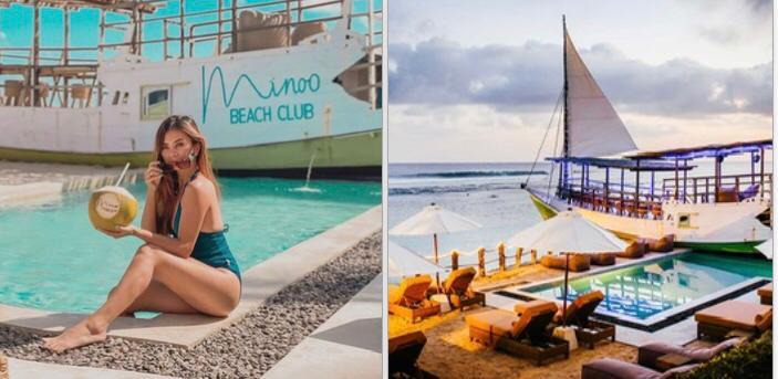 mïnoo beach club Bali