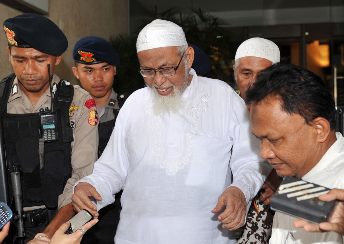 Bali bombings mastermind Bashir will be released