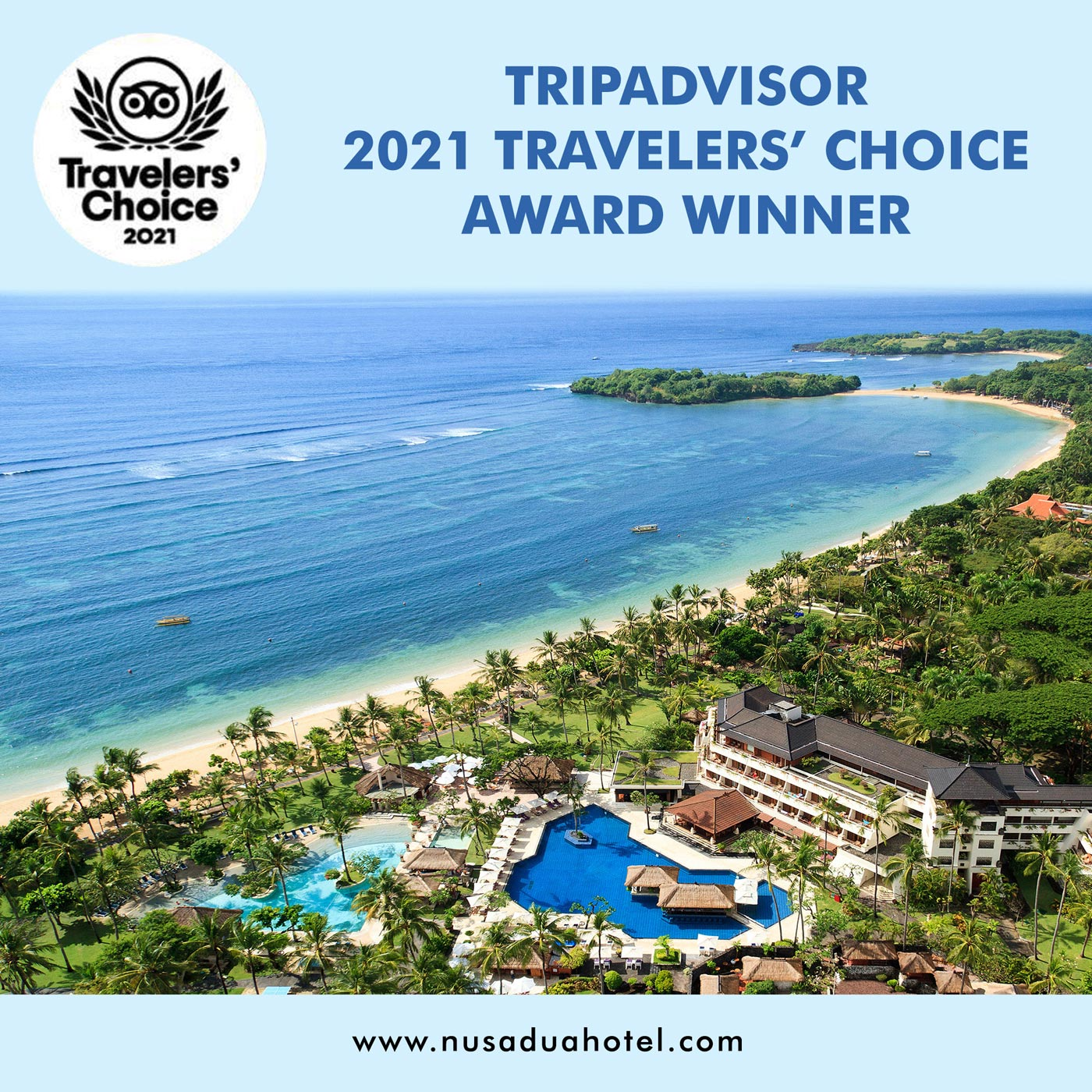 Two hotels in Bali among best in the world