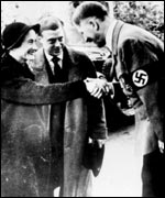The Windsors with Hitler in 1937