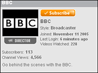BBC-YouTube