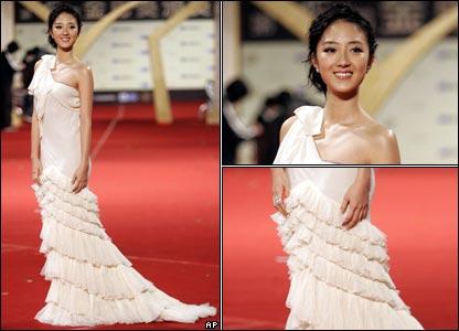 BBC 中文網 | 圖片報導 | 圖輯:第45屆臺灣金馬獎頒獎典禮