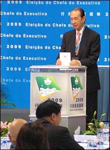 BBC 中文網 | 圖片報導 | 圖輯:澳門第三屆行政長官選舉