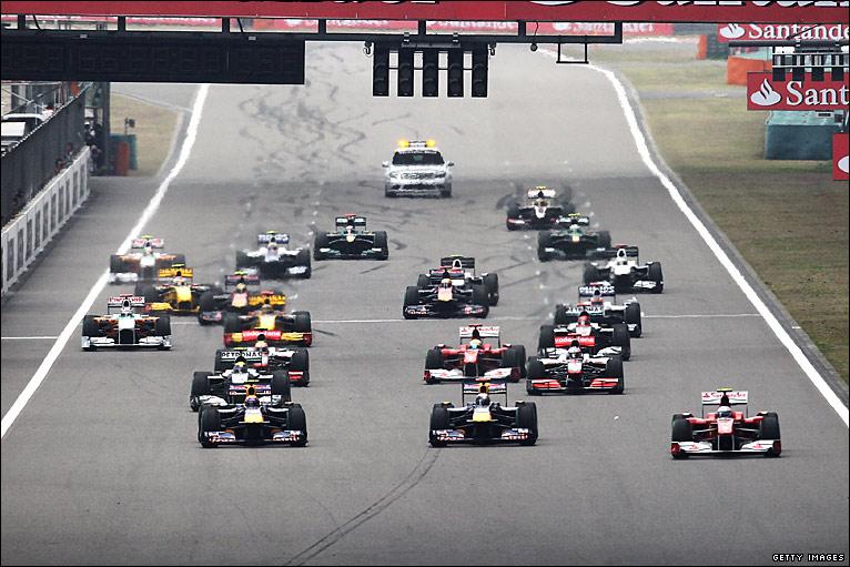 BBC Sport - F1 - Chinese Grand Prix photos
