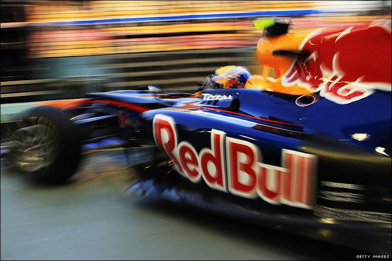 BBC Sport - F1 - Singapore Grand Prix practice photos
