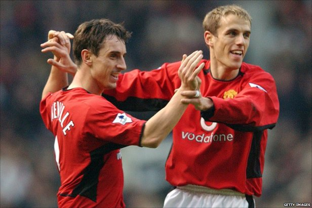 BBC Sport - Football - Gary Neville's career in pictures