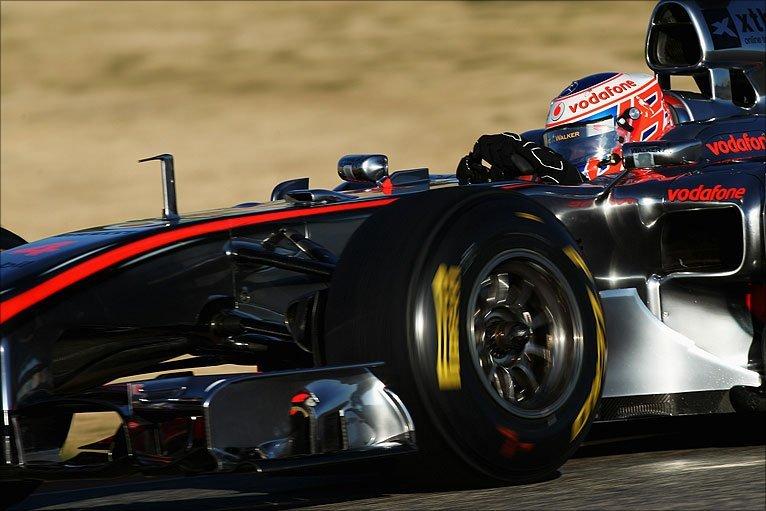 BBC Sport - F1 - Formula 1 testing photos