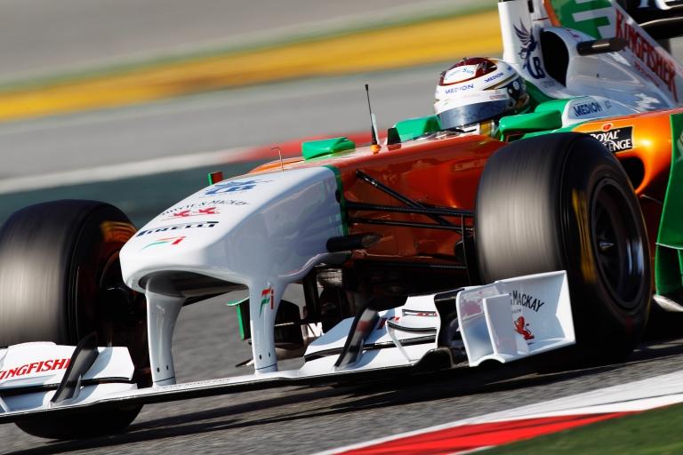 BBC Sport - F1 - Barcelona F1 test photos