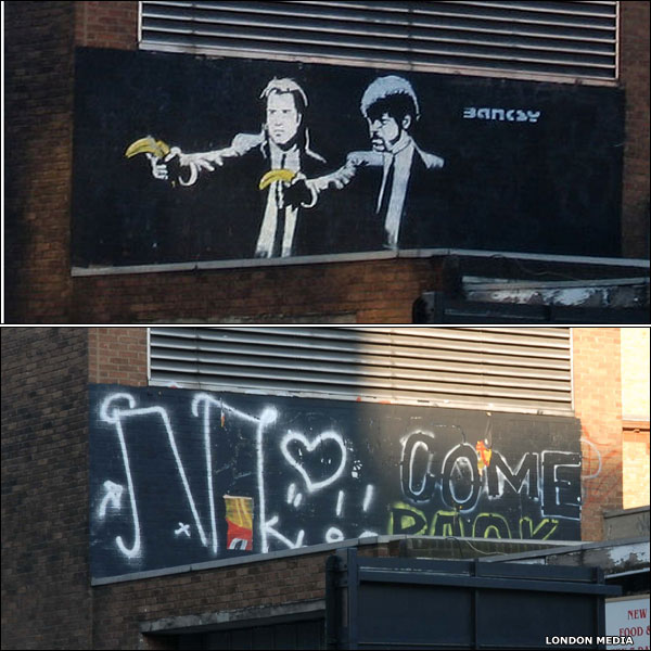 No more Banksy