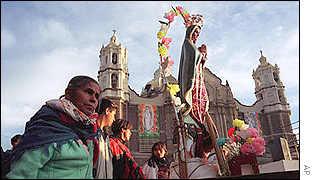 14 millones de mexicanos llegan anualmente ante la imagen que cariñosamente veneran como