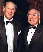 Packer with Australian Prime Minister John Howard