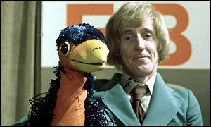Rod Hull and Emu in the Seventies