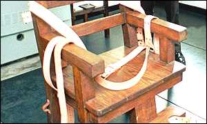 florida electric chair folding wood bbc news americas row over new