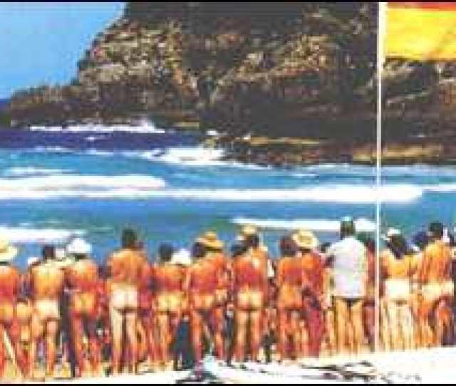 Nudists On Queensland Beach