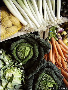 Vegetables (Getty Images)