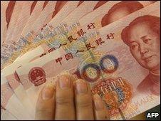 100 yuan notes - file photo