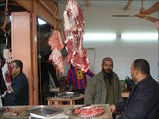 Butcher in Gaza City