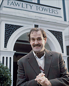 Image result for image of basil fawlty