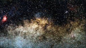 Milky Way galactic centre