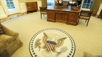 BBC News - In pictures: Oval Office redecoration